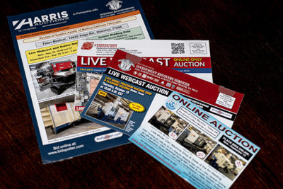 Various mailers from 2010