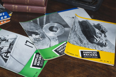 1945 editions of The Surplus Record