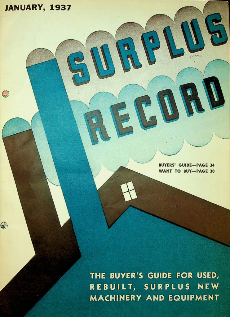 Surplus Record January 1937 edition